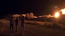PıNARKENT - Denizli'de Katı Atık Bertaraf Tesisindeki Yangın