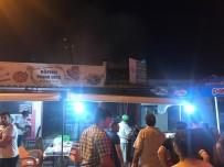 Kepsut'ta Ev Yangını