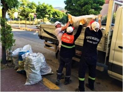 Körfez'de Tonlarca Atık Madde Geri Dönüşüme Kazandırıldı