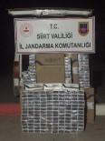 TRAFİK KANUNU - Siirt'te 7 Bin 490 Paket Kaçak Sigara Ele Geçirildi
