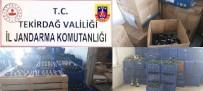VOTKA - Tekirdağ'da Dev Operasyon Açıklaması 4 Milyon 840 Bin TL Vergi Kaçakçılığı Önlendi