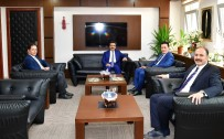 BAŞSAVCı - Vali Güzeloğlu'ndan Diyarbakır Cumhuriyet Başsavcısı Yavuz'a Ziyaret