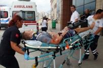 ALAADDIN KEYKUBAT - Alanya'da Turist Taşıyan Minibüs Şarampole Yuvarlandı Açıklaması 1 Ölü, 11 Yaralı