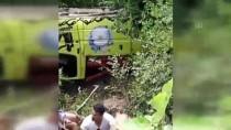 ALAADDIN KEYKUBAT - Antalya'da Tur Minibüsü Devrildi Açıklaması 1 Ölü, 11 Yaralı