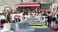 Burhaniye'de Beşiktaşlılar Kan Bağışında Bulundu