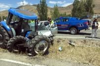 Gümüşhane'de İki Ayrı Trafik Kazasında 5 Kişi Yaralandı