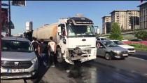 CEVIZLIBAĞ - GÜNCELLEME - Su Tankeri Tramvaya Çarptı