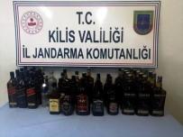 Kilis'te Kaçak İçki Operasyonu