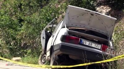 Kırklareli'nde Trafik Kazası Açıklaması 1 Ölü, 1 Yaralı
