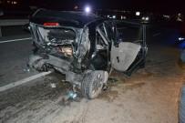 Konya'da Otomobil Otomobile Arkadan Çarptı Açıklaması 8 Ölü