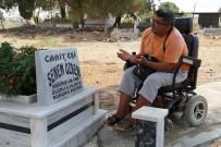 Mezarlıkta Açılan Özel Yol, Engelli Oğlu Anneye Kavuşturdu