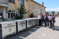 DENIZ PIŞKIN - Tosya Kaymakamlığından Köylere Çöp Konteyneri