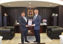 BAŞSAVCı - Yeni Cumhuriyet Başsavcısı Kılıç, Rektör Bilgiç'le Bir Araya Geldi