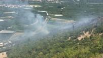 Arazözlerin Ulaşamadığı Yangın Kontrol Altına Alınmaya Çalışılıyor