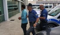 Attığı Taşla Otomobildeki Kadını Ağır Yaralayan Şahıs Tutuklandı