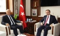 Başkan Pekmezci'den Vali Epcim'e Hayırlı Olsun Ziyareti