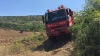 Bursa'da Hırsızların Çaldığı Kabloların Yenisi Yapılırken Orman Yangını Çıktı