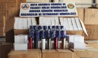 Çankırı'da 33 Bin 400 Adet Kaçak Termos Bardak Yakalandı