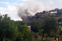 Gümüşhane'nin Tekke Köyündeki Yangında 3 Evde Hasar Oluştu