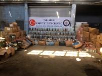 İÇKİ ŞİŞESİ - İstanbul'da Sahte İçki Operasyonu Açıklaması 19 Şüpheli Yakalandı