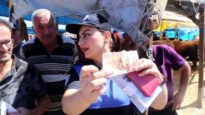 Kurban Pazarında Satıcılara Sahte Para Uyarısı