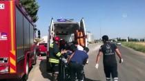 KARAAĞAÇLı - Plakadaki Sahtecilik Trafik Kazasıyla Ortaya Çıktı
