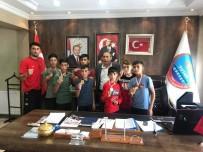 Şampiyonlardan Belediye Başkanı Duru'ya Teşekkür Ziyareti