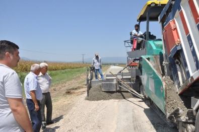 Sumbas'ta Beton Yol Çalışması