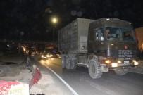 ASKERİ KONVOY - Suriye Sınırına Mühimmat Sevkiyatı
