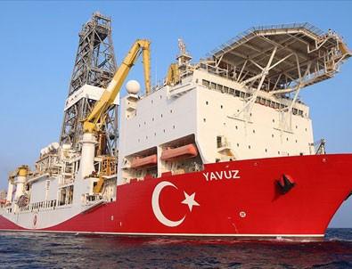 Yavuz gemisi sondaja başladı! İşte ilk görüntüler