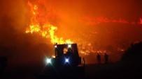 Antalya'da Korkutan Orman Yangını Kontrol Altına Alındı
