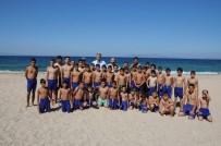 KARABIGA - Başkan Elbi'den Genç Futbolculara Ziyaret