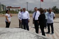 FUTBOL SAHASI - Beş Futbol Sahası Büyüklüğündeki Yeni Park Tamamlanmak Üzere