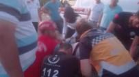 Burhaniye'de İki Otomobil Çarpıştı Sürücüleri Yaralandı