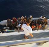 128 göçmen son anda yakalandı