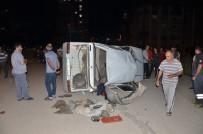 Elbistan'da Kaza Açıklaması 2 Yaralı