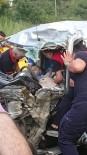 Giresun'da Bir Kişinin Öldüğü Kaza Güvenlik Kameralarına Yansıdı