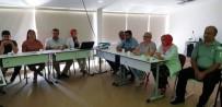 İSTİNAT DUVARI - Hastanede Masa Başı Tatbikatı