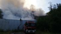 Kocaeli'de Çöplük Alanda Çıkan Yangın 4 Saatte Söndürüldü