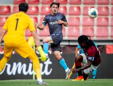 Trabzonspor avantajlı döndü