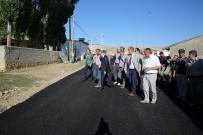 Vali Cüneyt Epcim, Danışment Köyü'nde Sürdürülen Asfalt Çalışmalarını İnceledi