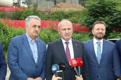 Bakan Turhan Açıklaması 'Salarha Tüneli Gelecek Yılın Sonunda Hizmete Girecek'