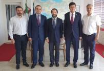 MUHABIR - Başkan Özcan, İtalya Konsolosu Giorgia İle Görüştü