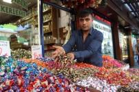 BAYRAM ŞEKERİ - Bayram Şekerleri Tezgahları Süslüyor