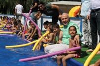 Belediye Portatif Havuz Kurdu, Çocuklar Bayram Etti