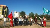 VATAN HAINI - Nevşehir Ülkü Ocakları Mehter Kıyafetleri İle Sokak Sokak Gezdi