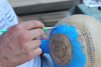 Su Kabağı Onun Ellerinde Sanata Dönüşüyor