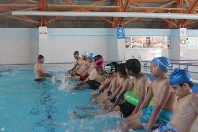 Siirtli Engelli Yüzücüler Türkiye Şampiyonası'na Hazırlanıyor