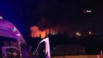 Tuzla Organize Sanayi Bölgesin'de Boya Fabrikasında Yangın Çıktı
