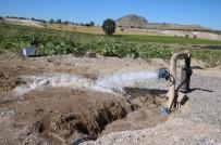 SU SIKINTISI - Uçhisar'da Yeni Açılan Su Kuyusu Şebeke Hattına Bağlandı